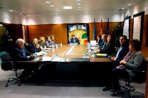 CERMI Asturias traslada sus reivindicaciones y preocupaciones al presidente del Gobierno de Asturias