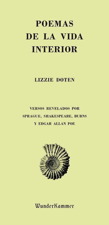 Portada de 'Poemas de la vida interior', de Lizzi Doten