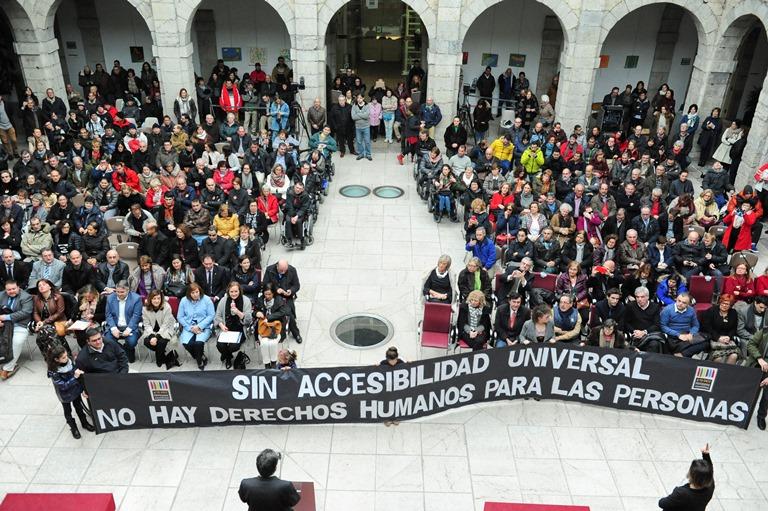 CERMI Cantabria conmemora con un acto en el Parlamento el Día Internacional de las Personas con Discapacidad