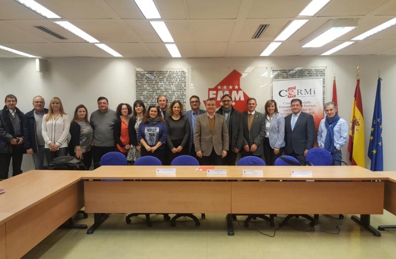 La FMM Y CERMI Madrid presentan el catálogo de pictogramas para la señalización de edificios públicos