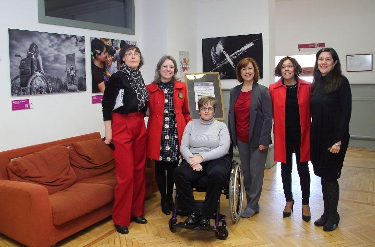 Fundación CERMI Mujeres y CERMI CLM inauguran euna exposición fotográfica contra las esterilizaciones forzadas a mujeres y niñas con discapacidad