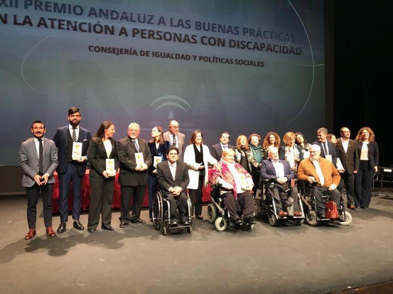CERMI Andalucía felicita a Codisa-Predif por el Premio a las Buenas Prácticas en la Atención a las Personas con Discapacidad en la modalidad de 'Promoción de la Autonomía Personal'