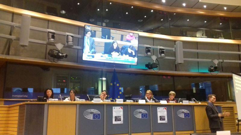 Sesión pública contra las esterilizaciones forzosas auspiciada por la Comisión de la Mujer del EDF