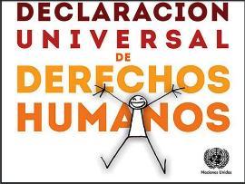 Portada de la versión ilustrada de la Declaración universal de derechos humanos