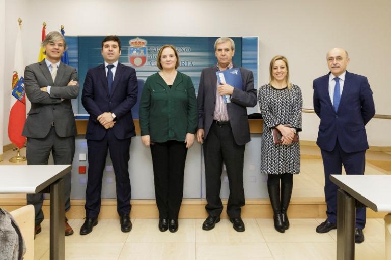 El Gobierno de Cantabria y el CERMI autonómico inician los trabajos para facilitar el voto y el acceso a la justicia de las personas con discapacidad