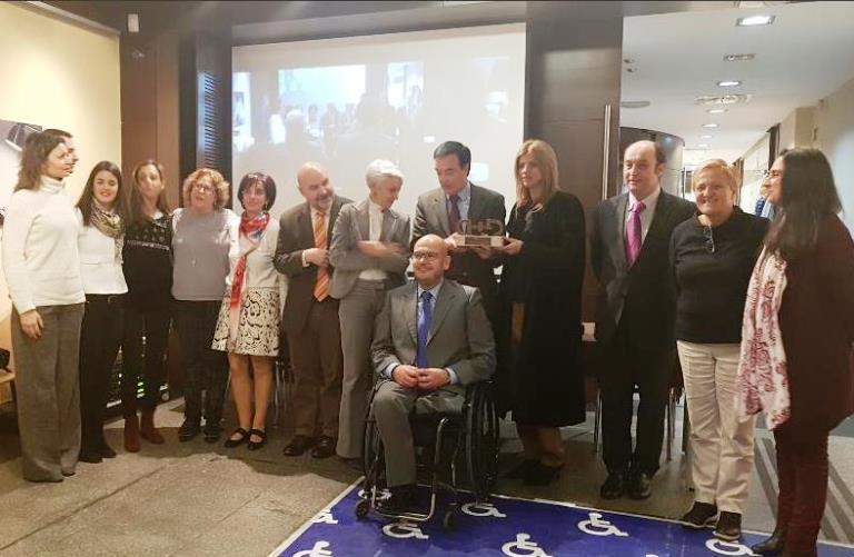 Entregado el 'Premio Cermi.es 2017' a la Oficina Técnica de Accesibilidad de Extremadura