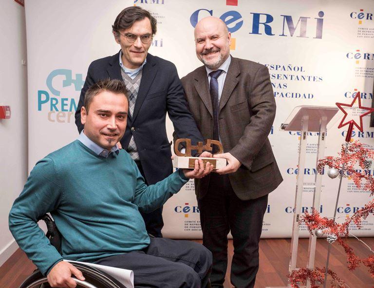 La pandilla de 'On Fologüers' recibe el Premio Cermi.es 2017