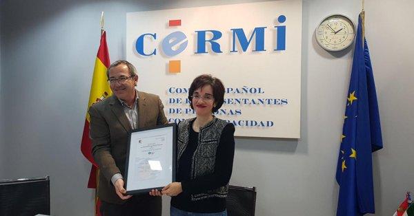 El CERMI obtiene el certificado ONG con Calidad del ICONG