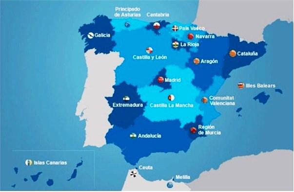 Organización territorial de España