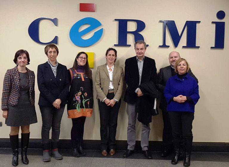 Foto de familia del Patronato de la Fundación CERMI Mujeres
