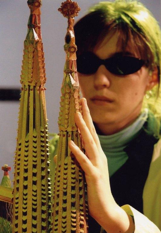 maqueta del Templo de la Sagrada Familia de Barcelona en el Museo Tiflológico