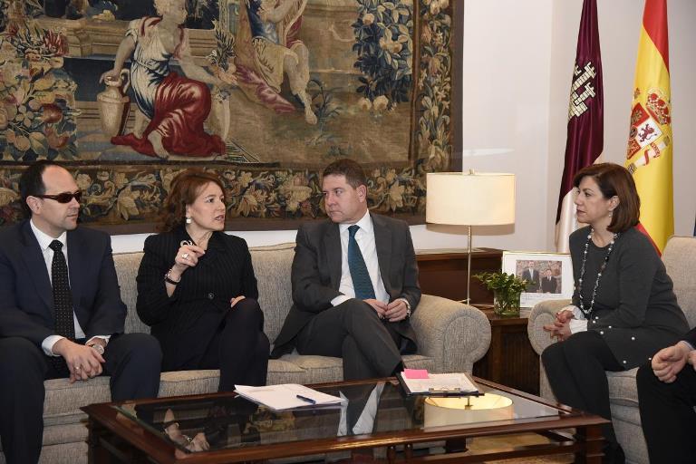 Encuentro de trabajo del Gobierno de Castilla-La Mancha con representantes de la Mesa del Tercer Sector
