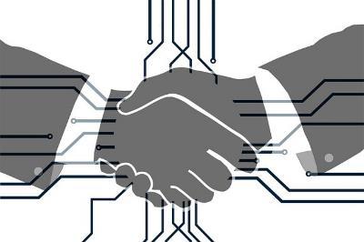 Acuerdo, manos que se estrechan