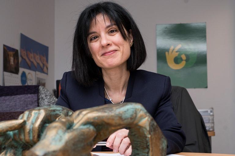 Esther Requena Olea, gerente de la Fundación ONCE para personas con sordoceguera