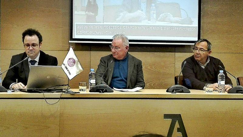 Dirigentes de Autismo España, Salud Mental España y Plena inclusión