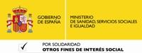 Logotipo 'Otros fines sociales' del Ministerio de Sanidad, Servicios Sociales e Igualdad