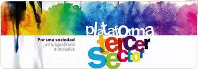 Plataforma del Tercer Sector, por una sociedad justa, igualitaria e inclusiva