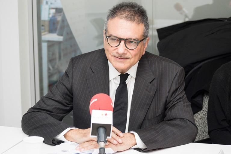Andrés Jiménez, responsable del Área de seguridad y justicia del Defensor del Pueblo