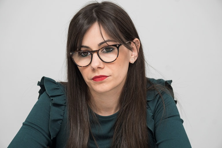 Marta Muñoz, asesora jurídica de la CNSE y responsable del proyecto de atención a las personas sordas reclusas