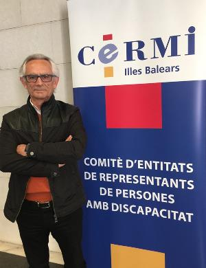 Jesús Mª Luna, presidente de CERMI Illes Balears