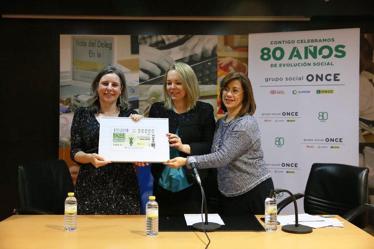 CERMI CLM celebra el 'Foro mujer y discapacidad' y la presentación del cupón de la ONCE dedicado al Día de la Mujer