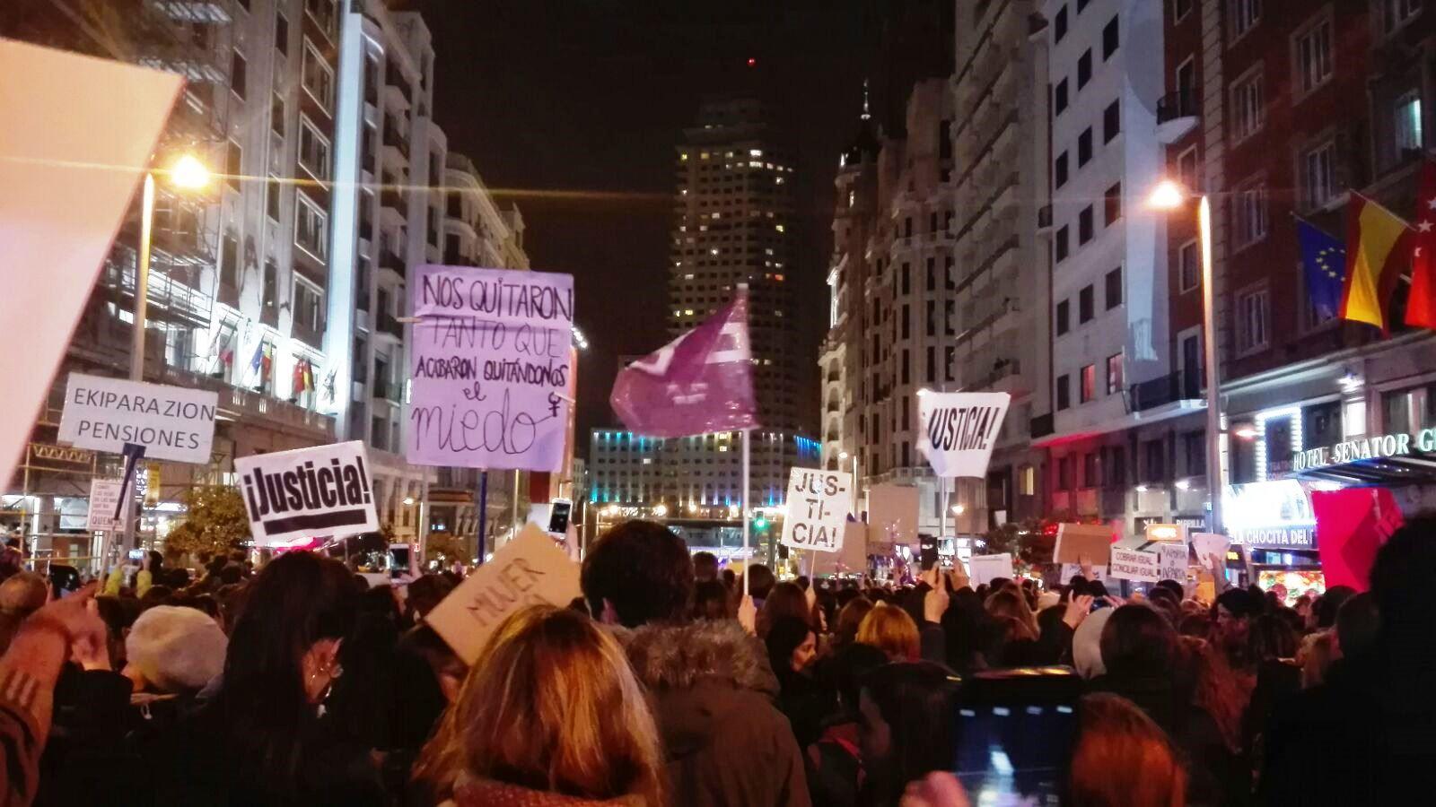 Manifestación 8M en MAdrid