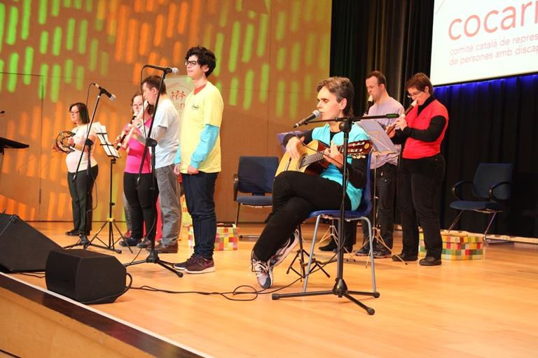 Actuación durante la celebración de los 20 años del Cocarmi
