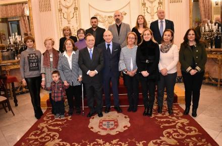 La Ciudad de Ceuta renueva los convenios con las diez entidades del CERMI