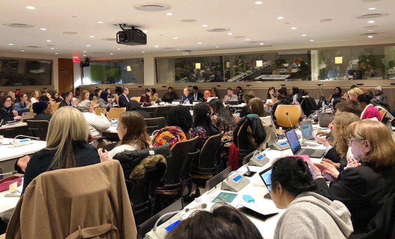 La Fundación CERMI Mujeres aborda en la sede de la ONU en Nueva York la problemática de las mujeres con discapacidad en el mundo rural