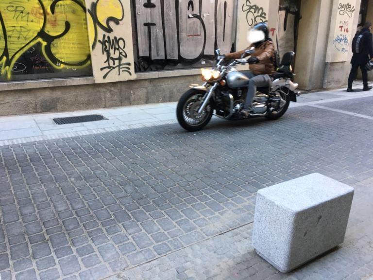 Detalle de una calle de Chueca