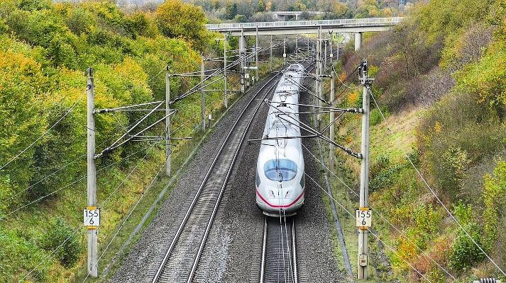 Detalle de un tren