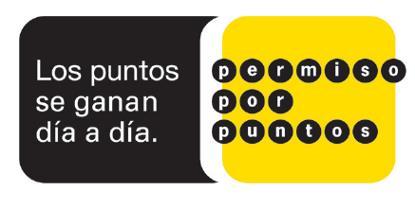 Los puntos se ganan día a día (imagen de la web de la Dirección General de Tráfico)