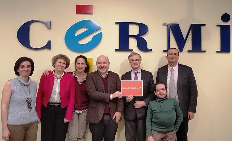 El CERMI y la Fundación CERMI Mujeres abordan la agenda política de la discapacidad con el Consejo Francés de la Discapacidad