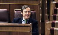 Rafael Hernando, portavoz del Grupo Parlamentario Popular en el Congreso de los Diputados