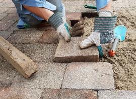 Construcción, obras en la calle