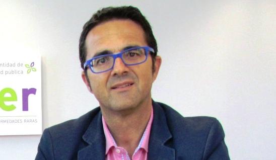Juan Carrión, presidente de Feder (Federación Española de Enfermedades Raras)