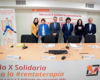 Presentada la campaña de la 'X Solidaria' para concienciar al 46 por ciento de contribuyentes que no marcan en su renta esta casilla