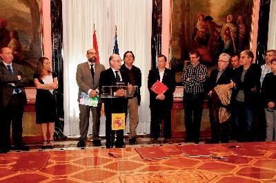 Elena Collado, secretaria de Estado de Función Pública, en el acuerdo con los sindicatos