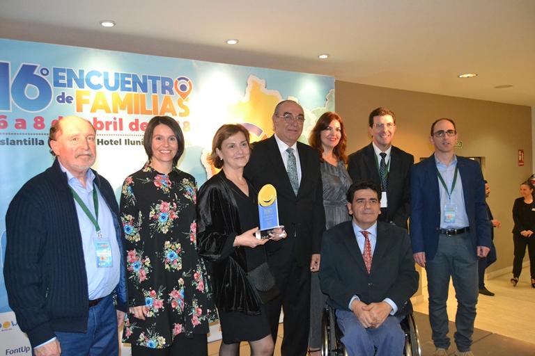 Down Andalucía premia a CERMI Andalucía por su labor en favor de la inclusión de las personas con síndrome de Down