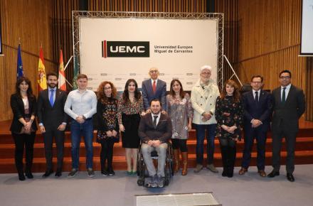 La Universidad Europea Miguel de Cervantes y el CERMI Castilla y León ponen en marcha un proyecto de innovación educativa pionero en España en materia de discapacidad