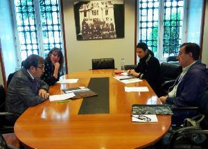 Una delegación del CERMI Asturias se reúne con las diputadas del Grupo Parlamentario de Podemos y de Ciudadanos de la Cámara autonómica