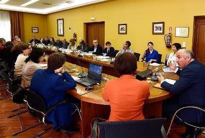 Reunión del Foro de Cultura Inclusiva, con presencia del CERMI
