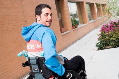 Alberto Alaíz, exdeportista/jugador de rugby con discapacidad sobrevenida