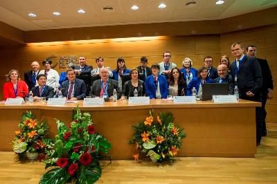 Foto de familia del congreso de Asprogrades
