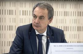 José Luis Rodríguez Zapatero, expresidente del Gobierno, patrono de la Fundación CERMI Mujeres y presidente del Foro de la Contratación socialmente responsable