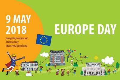 Cartel del 9 de mayo, día de Europa