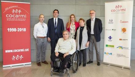 Antonio Guillén, reelegido presidente del movimiento catalán de la discapacidad