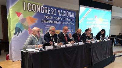 """Congreso Nacional """"Pasado, presente y futuro de las organizaciones sobre discapacidad"""""""