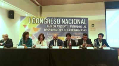 I Congreso Nacional 'Pasado, presente y futuro de las organizaciones sobre discapacidad'