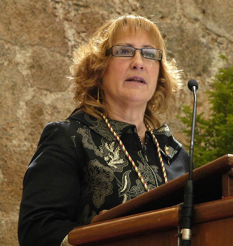 Manuela Muro, presidenta del CERMI La Rioja (imagen de Justo Rodríguez)